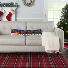 """Home for the Holiday Tl201 Navy 8"""" X 36"""""""