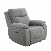 See Details - APOLLO - WEAVE GREY Power Recliner