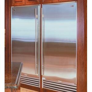 Sub-Zero - Platinum Stainless 601F All Freezer