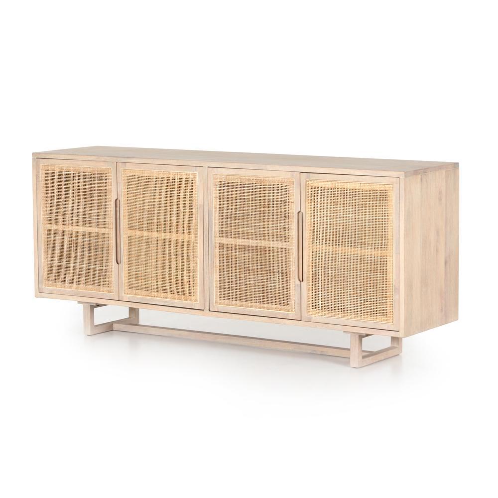 See Details - White Wash Mango Finish Clarita Sideboard