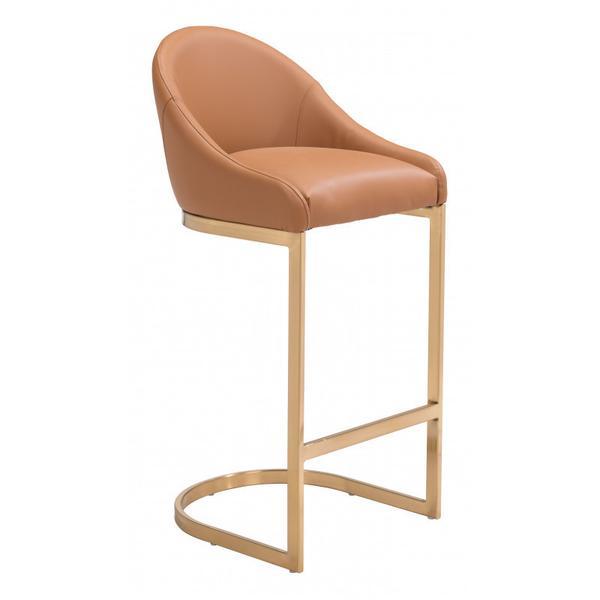 Scott Bar Chair Tan