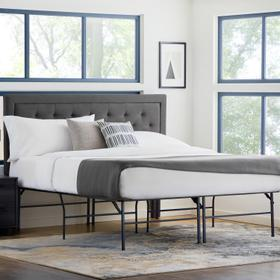 """Structures Highrise HD Bed Frame, 18"""", King"""