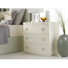 See Details - Transitions Bowfront Bedside Chest