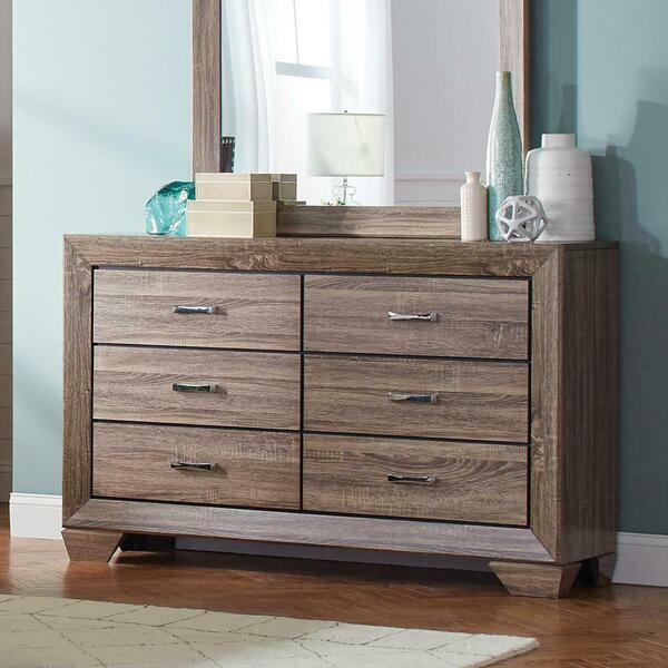 See Details - Kauffman Transitional Six-drawer Dresser