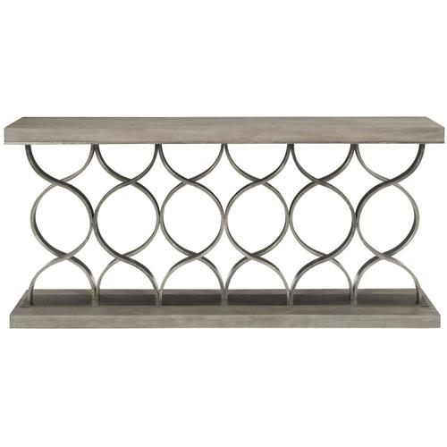 Camarillo Console Table in Weathered Greige