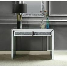 ACME Noralie Console Table - 90505 - Mirrored & Faux Diamonds