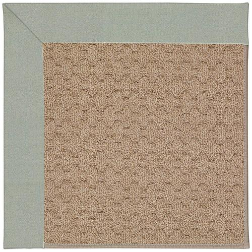 Creative Concepts-Grassy Mtn. Canvas Spa Blue Machine Tufted Rugs