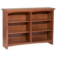 """GAC 36""""H x 48""""W McKenzie Alder Bookcase"""