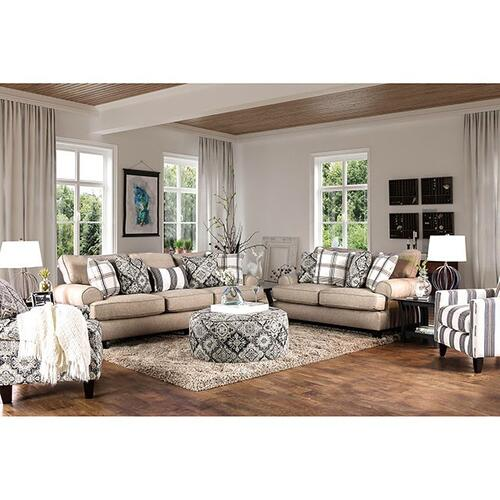Furniture of America - Bernadette Floral Chair