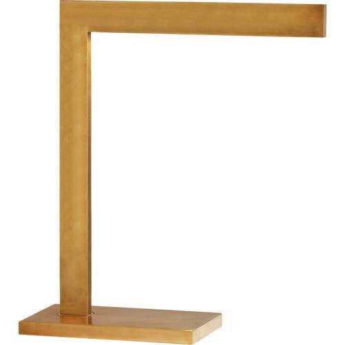 Visual Comfort - AERIN Lecce 17 inch 10.00 watt Hand-Rubbed Antique Brass Desk Lamp Portable Light