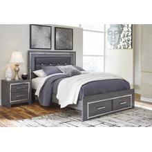 B214 Queen Storage Bed (Lodanna)