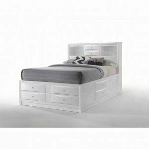 ACME Ireland Full Bed w/Storage - 21710F - White