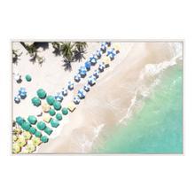 Beach Umbrellas Wall Décor