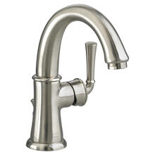 View Product - Portsmouth 1-Handle High-Arc Bathroom Faucet  American Standard - Brushed Nickel