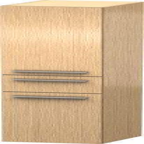Duravit - Tall Cabinet, Brushed Oak (real Wood Veneer)