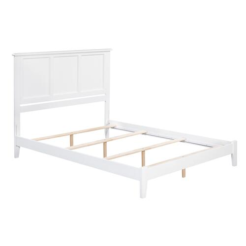 Madison King Bed in White