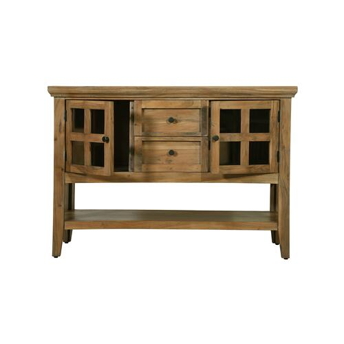 Product Image - Bronson Accent Cabinet - Buck Suede
