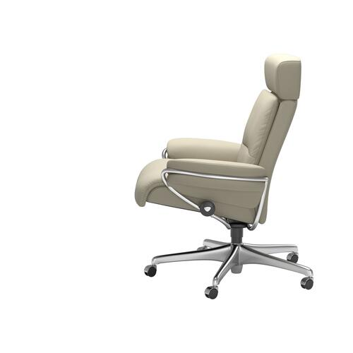 Stressless By Ekornes - Stressless® Tokyo Home Office Adjustable Headrest