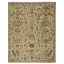 Charise-Isfahan Sand Hand Knotted Rugs (Custom)