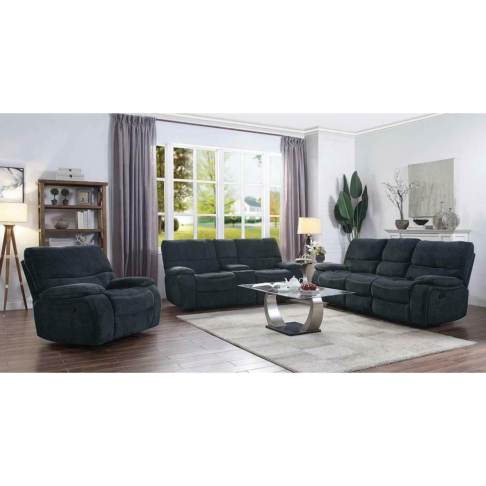 See Details - Perry Motion Sofa and Love Seat