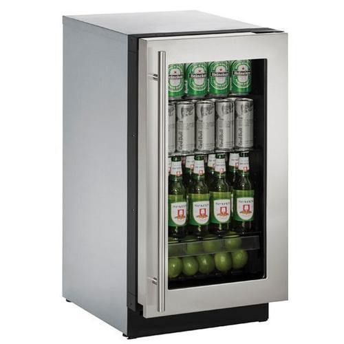 "U-Line - 3018rgl 18"" Refrigerator With Stainless Frame Finish (115 V/60 Hz Volts /60 Hz Hz)"