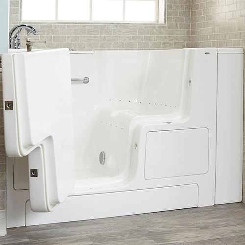 American Standard - Value Series 32x52-inch Air Massage Walk-In Tub  Out-swing Door  American Standard - White