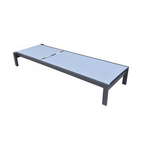 VIG Furniture - Renava Kayak - Modern Charcoal Outdoor Chaise Lounge