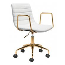 See Details - Eric Office Chair White