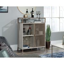 Accent Storage Cabinet with Sliding Doors