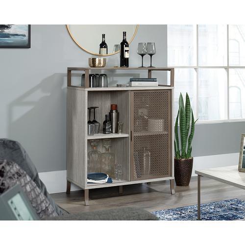 Accent Storage Cabinet with Sliding Door
