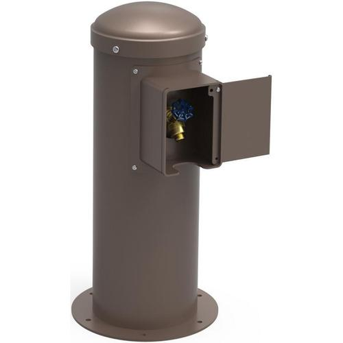Elkay - Elkay Yard Hydrant with Locking Hose Bib Non-Filtered, Non-Refrigerated Brown