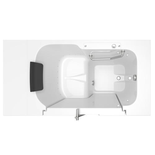 American Standard - Premium Series 32x52-inch Air Massage Walk-In Tub  Outswing Door  American Standard - White