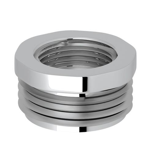 "Polished Chrome Perrin & Rowe 3/4""M X 1/2""F Adaptor"