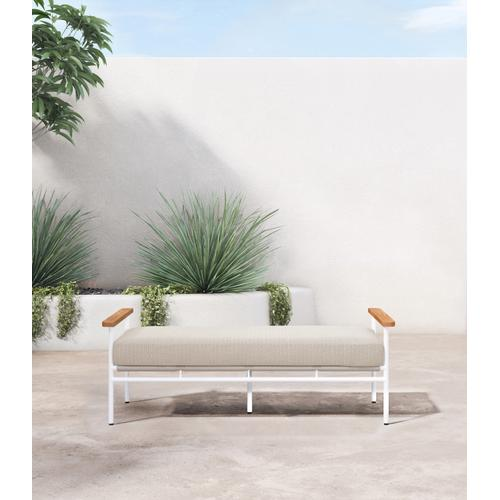 Faye Sand Cover Aroba Outdoor Bench