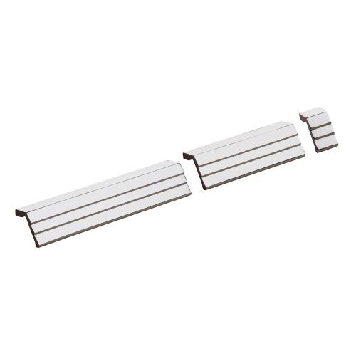 Modern Cabinet Pull in US32 (Polished Stainless Steel)