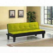 ACME Hamar Adjustable Sofa - 57039 - Green Flannel Fabric Product Image