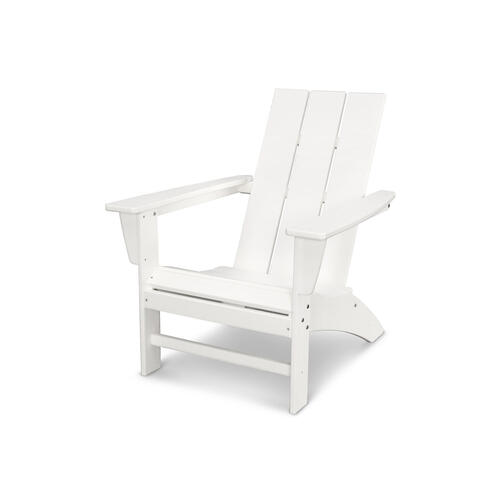 White Modern Adirondack Chair