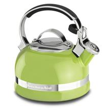 2.0-Quart Stove Top Kettle with Full Stainless Steel Handle Sunkissed Lime