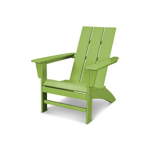 Lime Modern Adirondack Chair