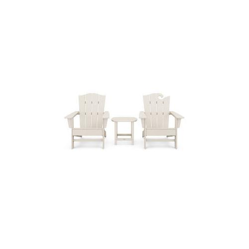 Polywood Furnishings - Wave Collection 3-Piece Set in Sand