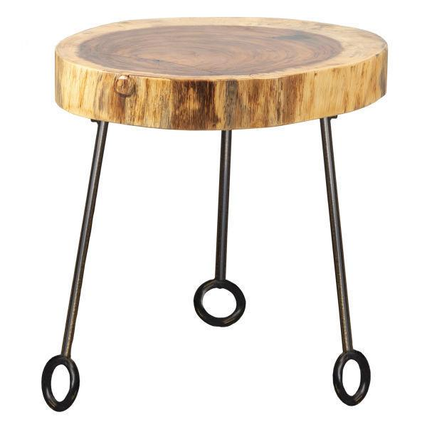 "Live Edge 14"" Round Table Top (top Only)"