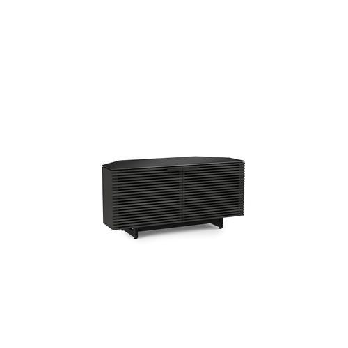 BDI Furniture - Corridor 8175 Corner Media Cabinet in Charcoal Stained Ash