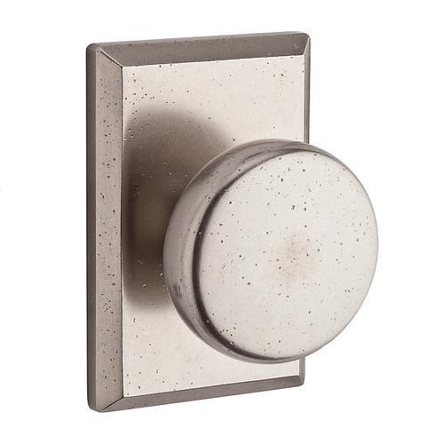 Baldwin - White Bronze Rustic Reserve Knob