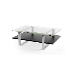 Coffee Table 1642 in Charcoal Stained Ash