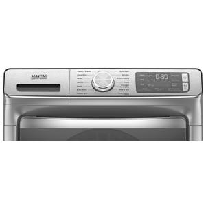 Maytag - Smart Front Load Washer with Extra Power and 24-Hr Fresh Hold® option - 5.0 cu. ft.