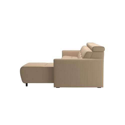 Stressless By Ekornes - Stressless® Emily arm wood 3 seater Power left with Long Seat