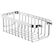See Details - Antique Gold Rectangular shower basket with concealed fix