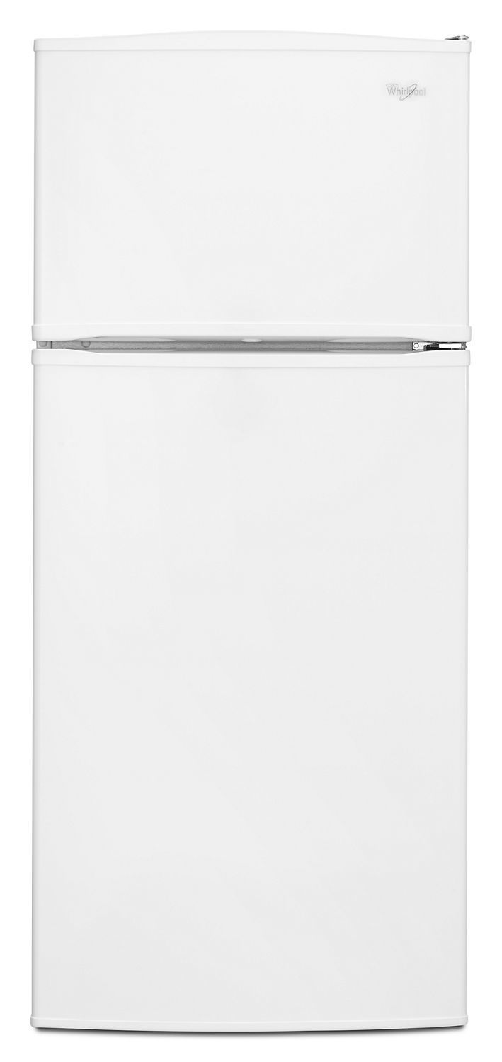 Whirlpool28-Inch Wide Top Freezer Refrigerator - 16 Cu. Ft. White