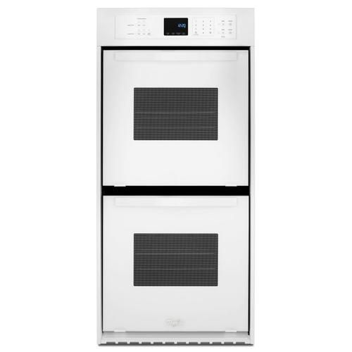 Whirlpool - 6.2 Cu. Ft. Double Wall Oven with High-Heat Self-Cleaning System White