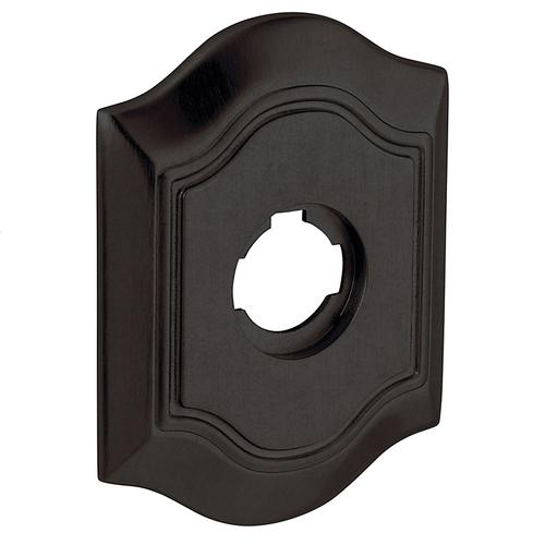 Baldwin - Distressed Oil-Rubbed Bronze R027 Bethpage Rose